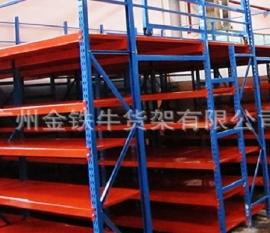 广州轻型搁板式货架注意事项