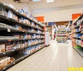 九色花堂超市货架陈列的4大手法