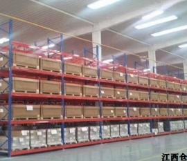 江西货架厂家浅谈仓储货架的使用特点及适用范围