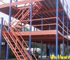 浙江温州多层阁楼平台货架