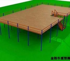 江苏无锡重型阁楼平台定制搭建案例