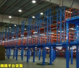 金铁牛为四川烟草搭建大型阁楼货架平台