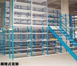 广西阁楼货架的安装方法和注意事项