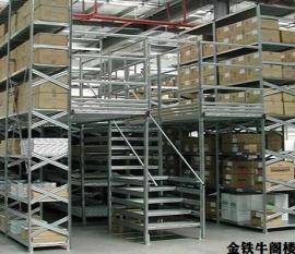 广西汽车五金店阁楼货架案例