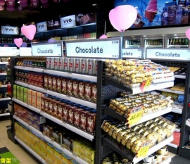 重庆超市货架的日常陈列原则与技巧