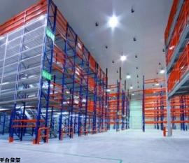 广州货架厂家介绍黄埔重型阁楼平台货架的优势